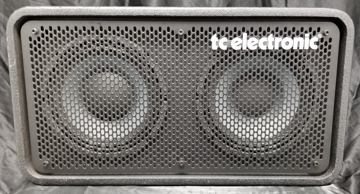 used tc electronics rs210 bass 2x10 speaker cabinet. Black Bedroom Furniture Sets. Home Design Ideas