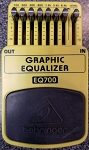 (USED) Behringer EQ700 Graphic Equilizer Guitar Effects Pedal