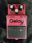 (USED) Boss MIJ DM-2 Analog Delay Guitar Effects Pedal