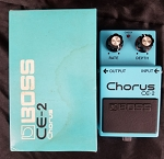 (USED) Boss MIJ CE-2 Chourus Guitar Effects Pedal