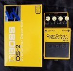(USED) Boss OS-2 Overdrive/Distortion Guitar Effects Pedal
