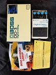 (USED) Boss DD-3 Digital Delay Guitar Effects Pedal