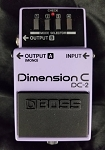 (USED) Boss MIJ DC-2 Dimension C Guitar Effects Pedal
