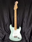 (USED) Fender MIM Classic 50's Stratocaster Electric Guitar, Surf Green