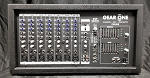 (USED) Gear One 8-Channel 500w Powered Mixer w/Kustom KCP15 Passive Speaker Pair