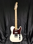 (USED) Fender MIM Nashville Telecaster Electric Guitar, White Blonde