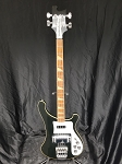 (USED) 1981 Rickenbacker 4001 Electric Bass, Jetglo w/OHSC