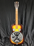 (USED) Dobro Resonator D-60 Square Neck Slide Guitar w/Case