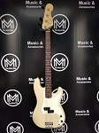(USED) Fender USA Highway One Series Precision Bass, Vintage Blonde w/Case