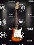 (USED) Fender MIM Standard Stratocaster Electric Guitar w/Pickup Upgrade