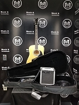 (USED) Esteban AL-100 Acoustic Electric Guitar Package w/Amp and Case