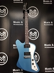 (USED) Gibson Firebird Zero Faded Pelham Blue w/Gig Bag