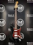 (USED) Fender MIM Standard Stratocaster Electric Guitar, Black
