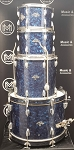 (USED) 1960's Pearl/La Boz 4-Piece Drum Shell Pack