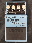 (USED) Boss CH-1 Stereo Super Chorus Guitar Effects Pedal