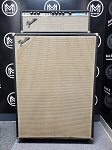 (USED) 1973 Fender Bassman 100 100-Watt Tube Amplifier Head and 4x12