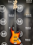 (USED) Squier Vintage Modified Fretless Jazz Bass 4-String Electric Bass Guitar
