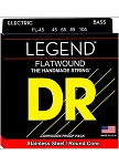 DR FL45 Legend Flat Wound Bass Strings 45-105