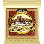 Ernie Ball 2003 Earthwood Medium Light 80/20 Bronze Alloy Acoustic Guitar Strings