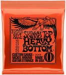 Ernie Ball 2215 Skinny Top/Heavy Bottom Slinky Nickle Would Electric Guitar Strings
