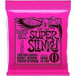 Ernie Ball 2223 Super Slinky Custom Gauge Nickle Would Electric Guitar Strings