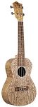 Eddy Finn EF-ASH-N Textured Ash Concert Sized Ukulele Natural Finish