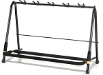 Hercules Rack Style Expandable 5-Guitar Stand