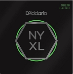 D'Addario NYXL0838 Nickel Wound Extra Super Light Electric Guitar Strings .08-.38
