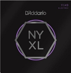 D'Addario NYXL1149 Nickel Wound Medium Electric Guitar Strings .11-.49