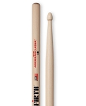 Vic Firth VF5BW American Classic Hickory 5B Drumsticks Wood Tip