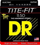 DR EH-11 Tite-Fit Extra Heavy Gauge Compression Wound Electric Guitar Strings