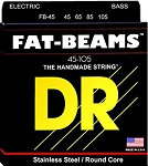 DR FB-45 Fat Beams Medium Gauge Stainless Steel 4-String Electric Bass Strings