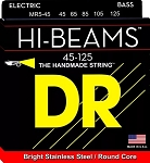 DR MR-545 Hi-Beams Medium Gauge Bright Stainless Steel 5-String Electric Bass Strings