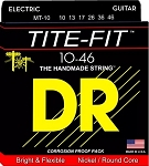 DR MT-10 Tite-Fit Medium Gauge Compression Wound Electric Guitar Strings