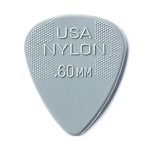 Dunlop 44P.60 Nylon Standard .60mm Guitar Picks 12-Pack
