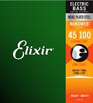 Elixir 14052 Light Gauge Long Scale NANOWEB Coating Electric Bass Strings
