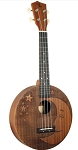 Eddy Finn EF-MOON The Moon and Stars Mahogany Concert Sized Ukulele Natural Finish