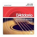 D'Addario EJ17 Medium Gauge Phosphor Bronze Acoustic Guitar Strings