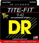 DR LT-9 Tite-Fit Light Gauge Compression Wound Electric Guitar Strings