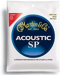 Martin MSP3100 SP Light Gauge 80/20 Bronze Acoustic Guitar Strings