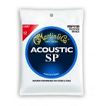 Martin MSP4100 SP Light Gauge Phosphor Bronze Acoustic Guitar Strings