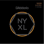 D'Addario NYXL1059 Nickel Wound Regular Light Gauge 7-String Guitar Strings .10-.59