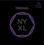 D'Addario NYXL1164 Nickel Wound Medium Gauge 7-String Electric Guitar Strings .11-.64
