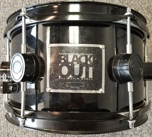(USED) PDP Black Out All-Maple Snare Drum 10x6