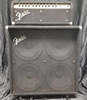 (USED) Fender Roc Pro 1000 Guitar Amp Head / Fender GE-412 Guitar Cabinet Combo