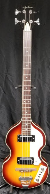 (USED) Jay Turser JTB-2 Electric 4-String Violin Bass Guitar