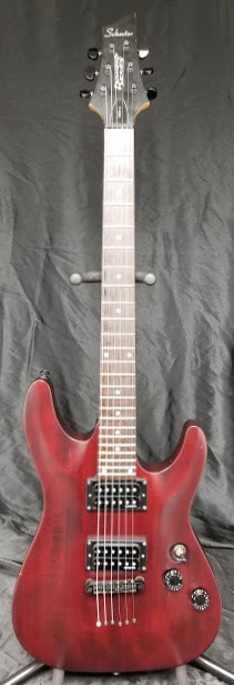 (USED) Schecter Diamond Series Omen-6 Electric Guitar