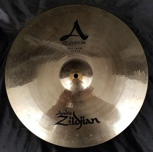 "(USED) Zildjian 17"" A Custom Fast Crash Cymbal"