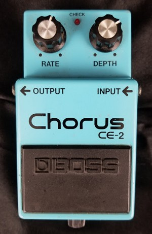 (USED) Boss MIJ CE-2 Chorus Guitar Effects Pedal