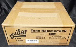 (FACTORY SEALED) Aguilar Tone Hammer 500w Bass Amplifier Head